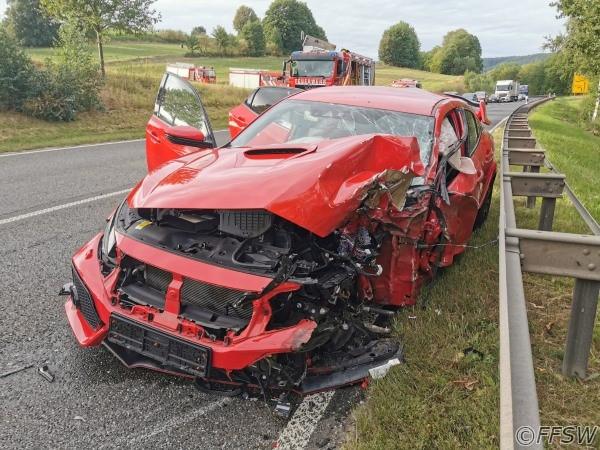 11.09.2020 Verkehrsunfall PKW