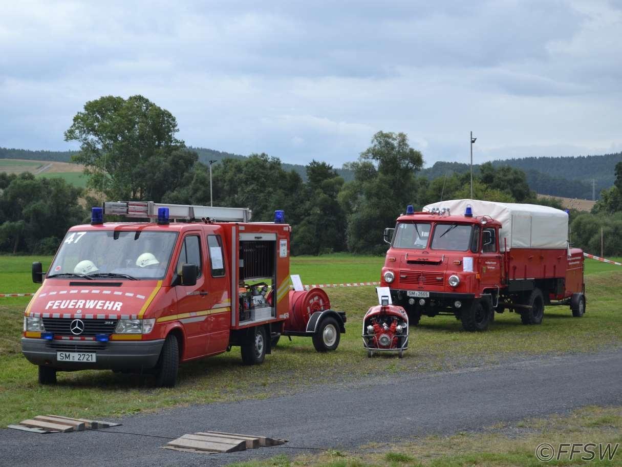 KLF Zillbach und LF8 Schwallungen