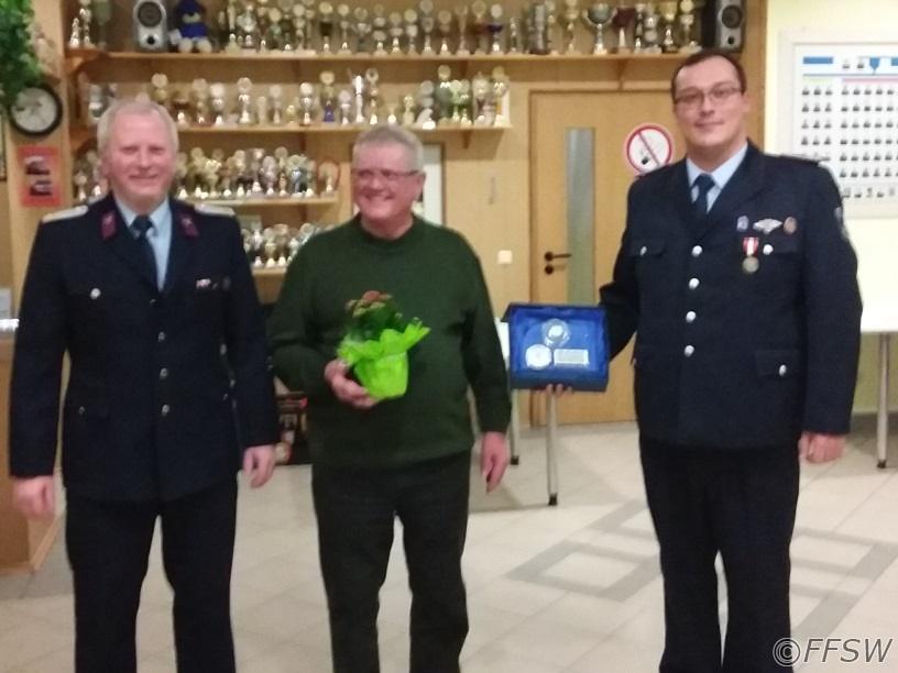50 Jahre Feuerwehrdienst