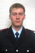 Jugendfeuerwehrwart Sascha Eichhorn