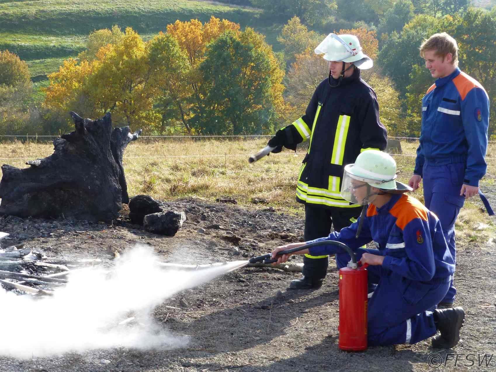 Feuerlöscherausbildung