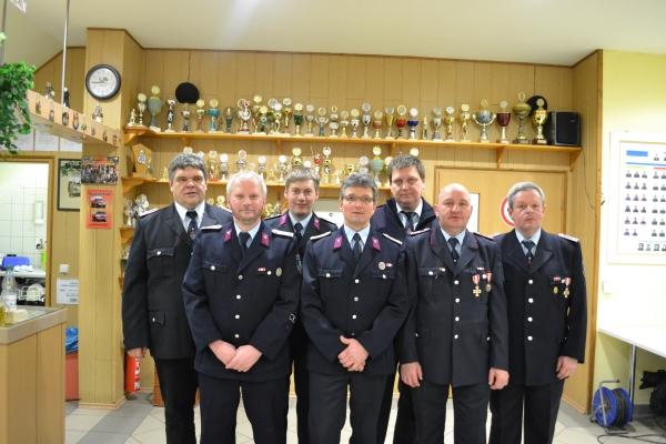Der Vorstand im Jahr 2015